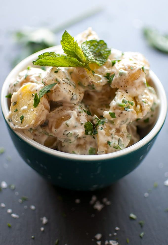 Baby Potato Salad - Salt & Lavender