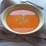 Roasted Tomato and Tarragon Soup - Salt & Lavender