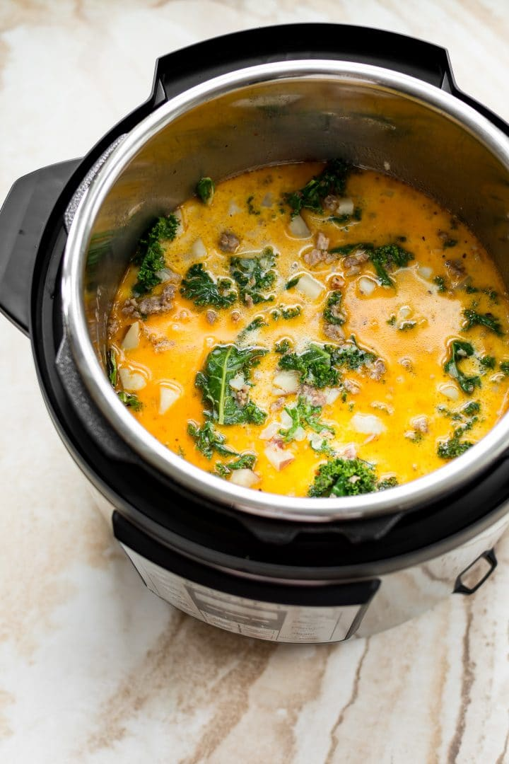 Zuppa Toscana in the Instant Pot