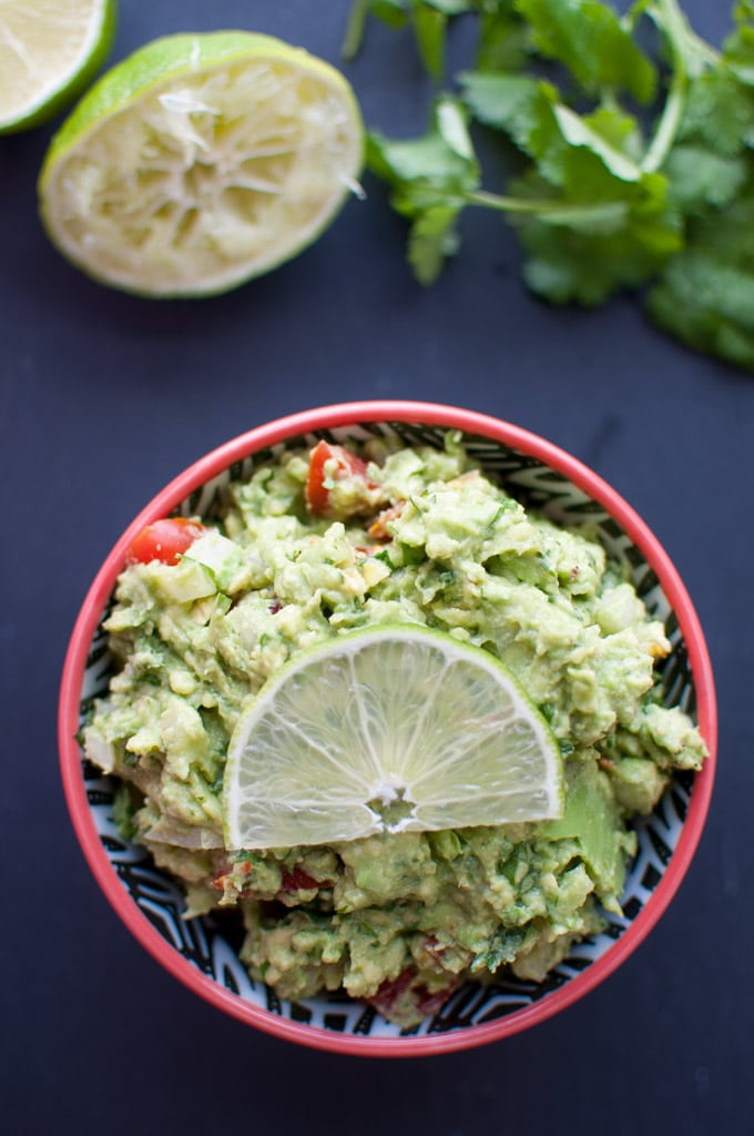 Guacamole - so fresh and delicious - just like you'd find in a Mexican restaurant! - Salt & Lavender