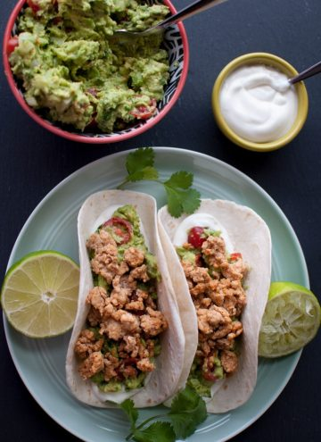 Turkey Tacos - Salt & Lavender