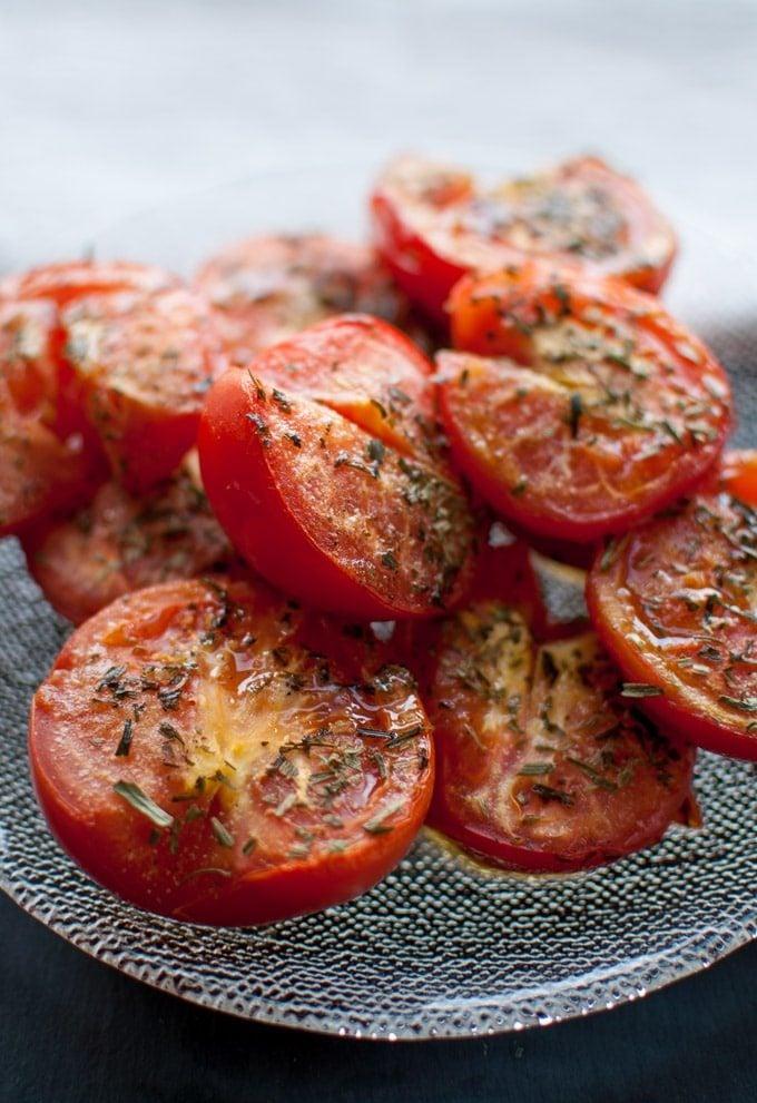 Roasted Tomatoes - Salt & Lavender