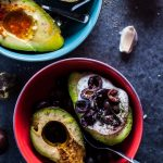 two bowls of avocado halves four ways