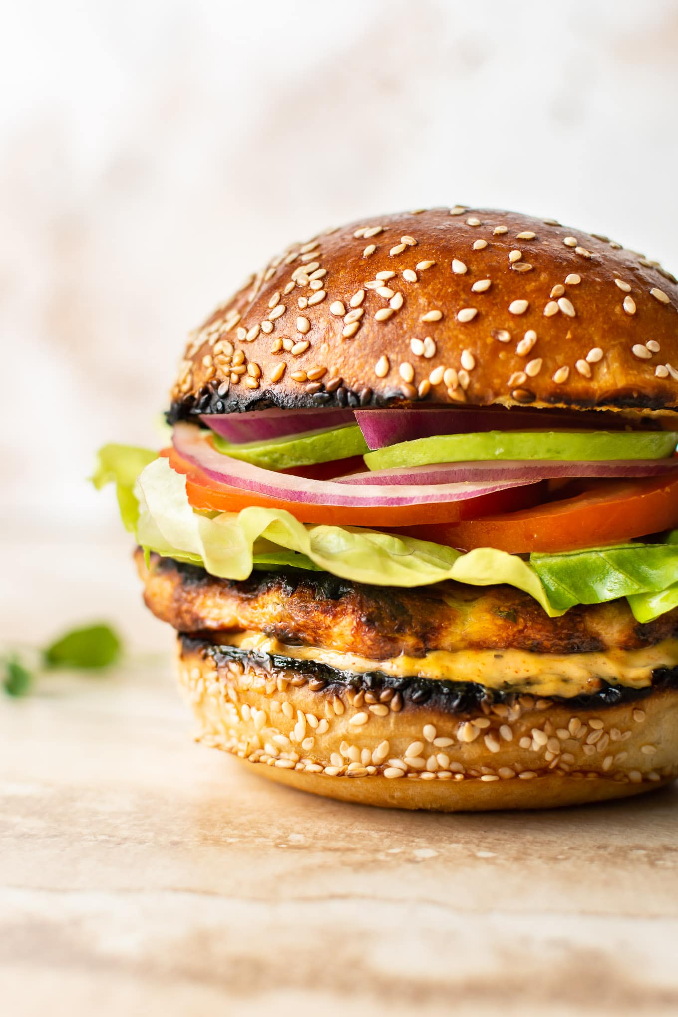 The Best Ground Chicken Burgers Salt Lavender