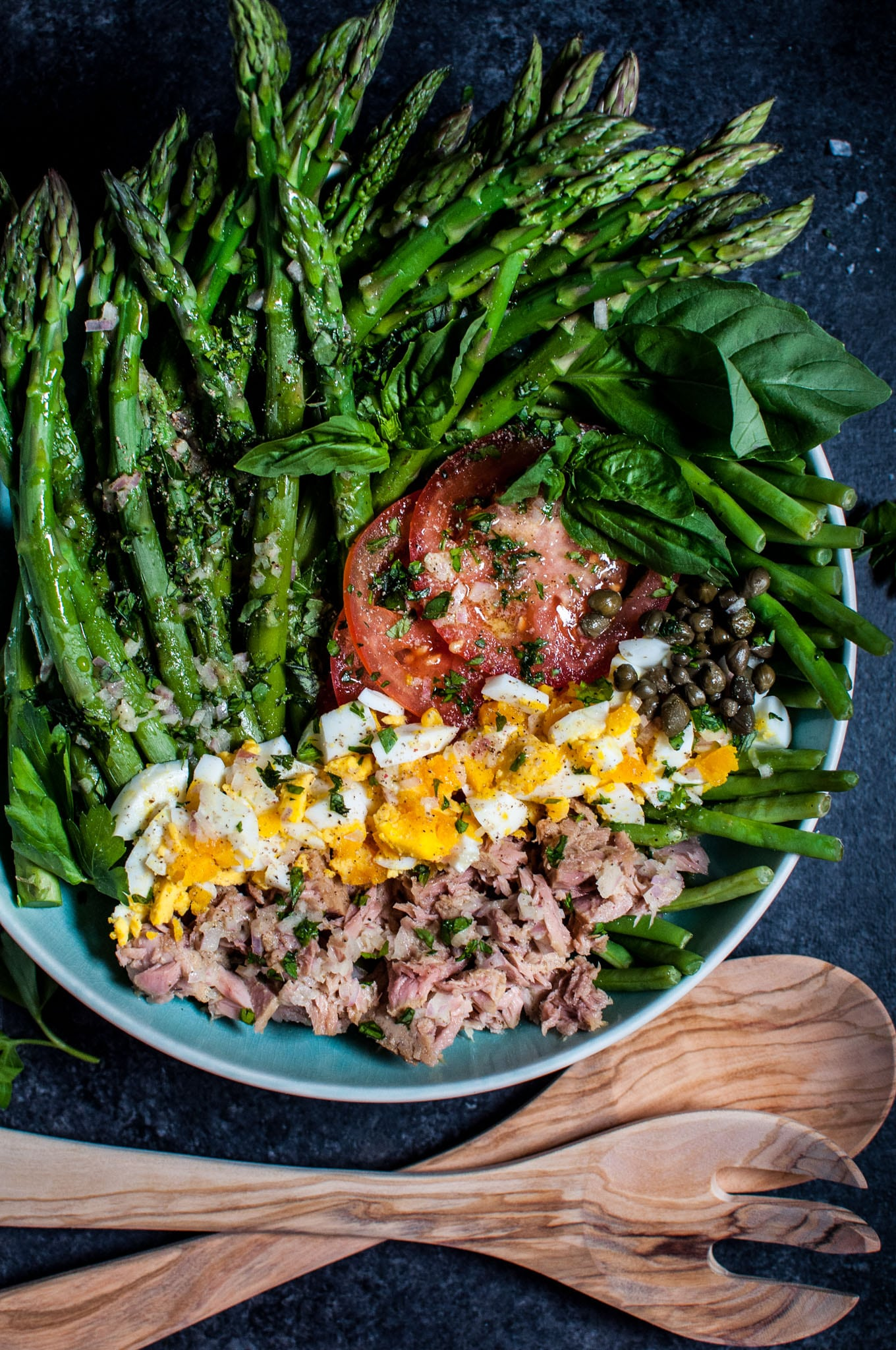 Asparagus And Green Bean Salad Salt Lavender
