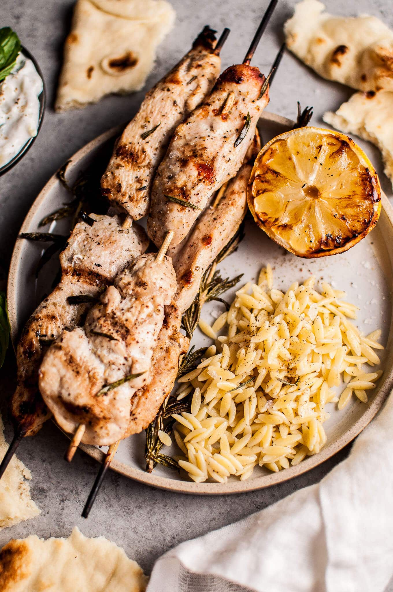 Rosemary Chicken Skewers Salt Amp Lavender