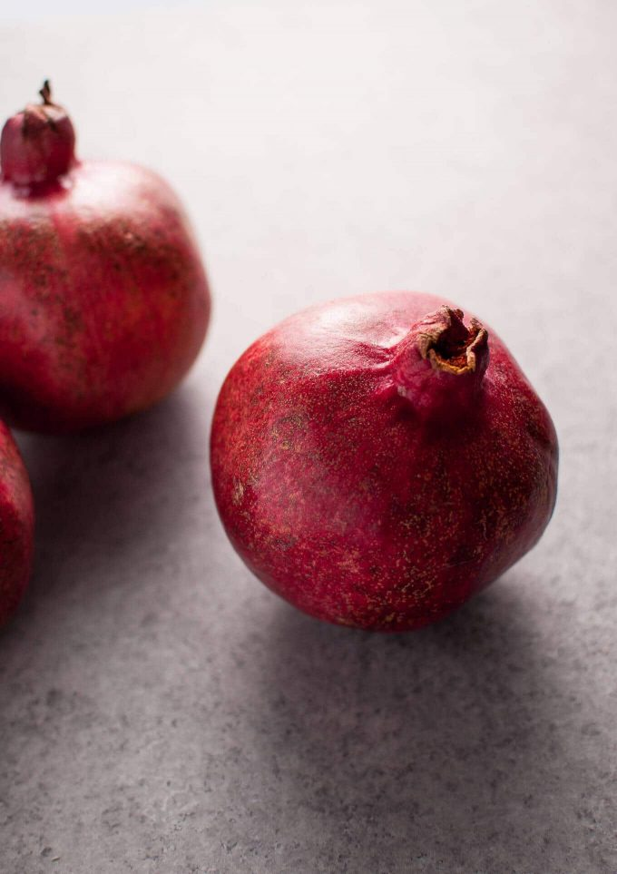 whole pomegranates