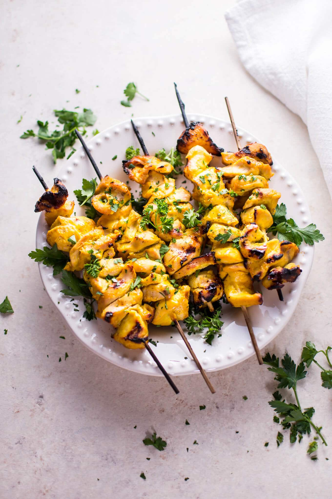 These grilled honey mustard chicken skewers are sure to become a ...