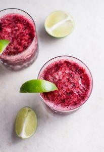 Cherry moscato slush - a refreshing 2-ingredient summer drink