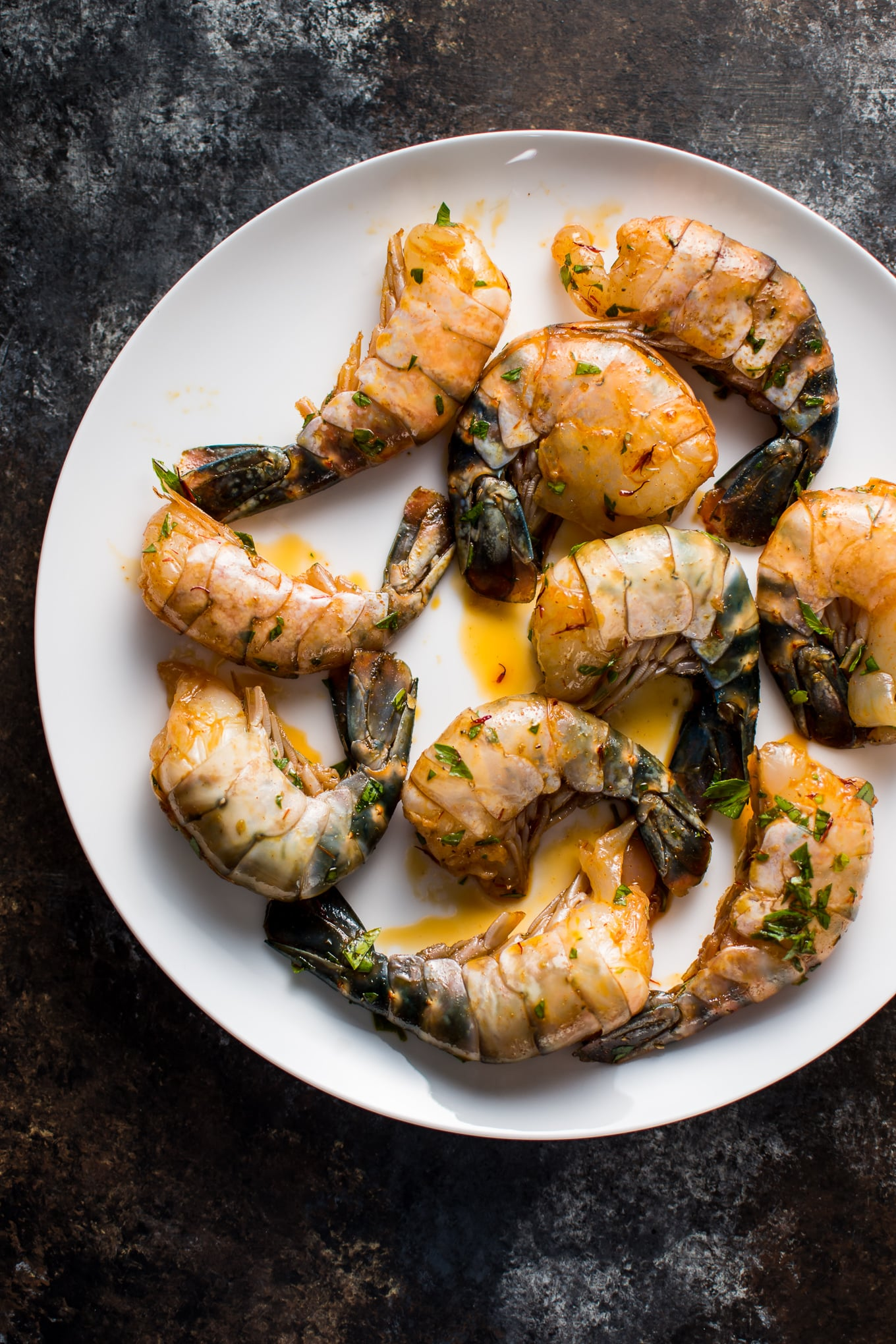 These grilled garlic jumbo shrimp are an impressive and flavorful dish that's a perfect appetizer for summer entertaining!