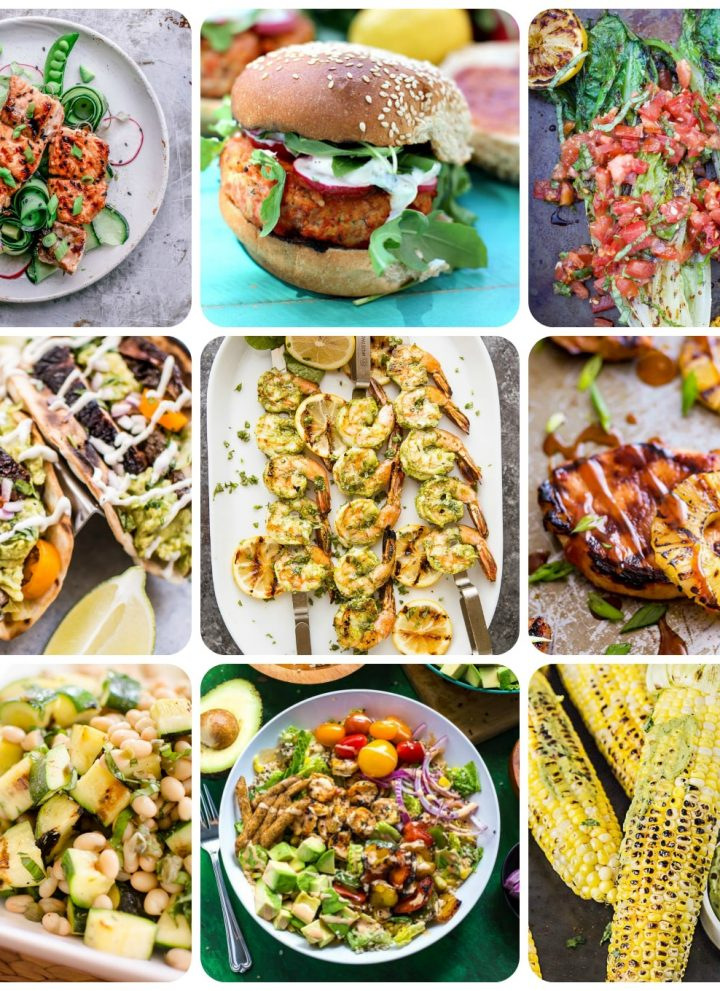 20 favorite delicious & healthy summer grilling recipes. From meat to fish to vegetarian choices... there's something for everyone!
