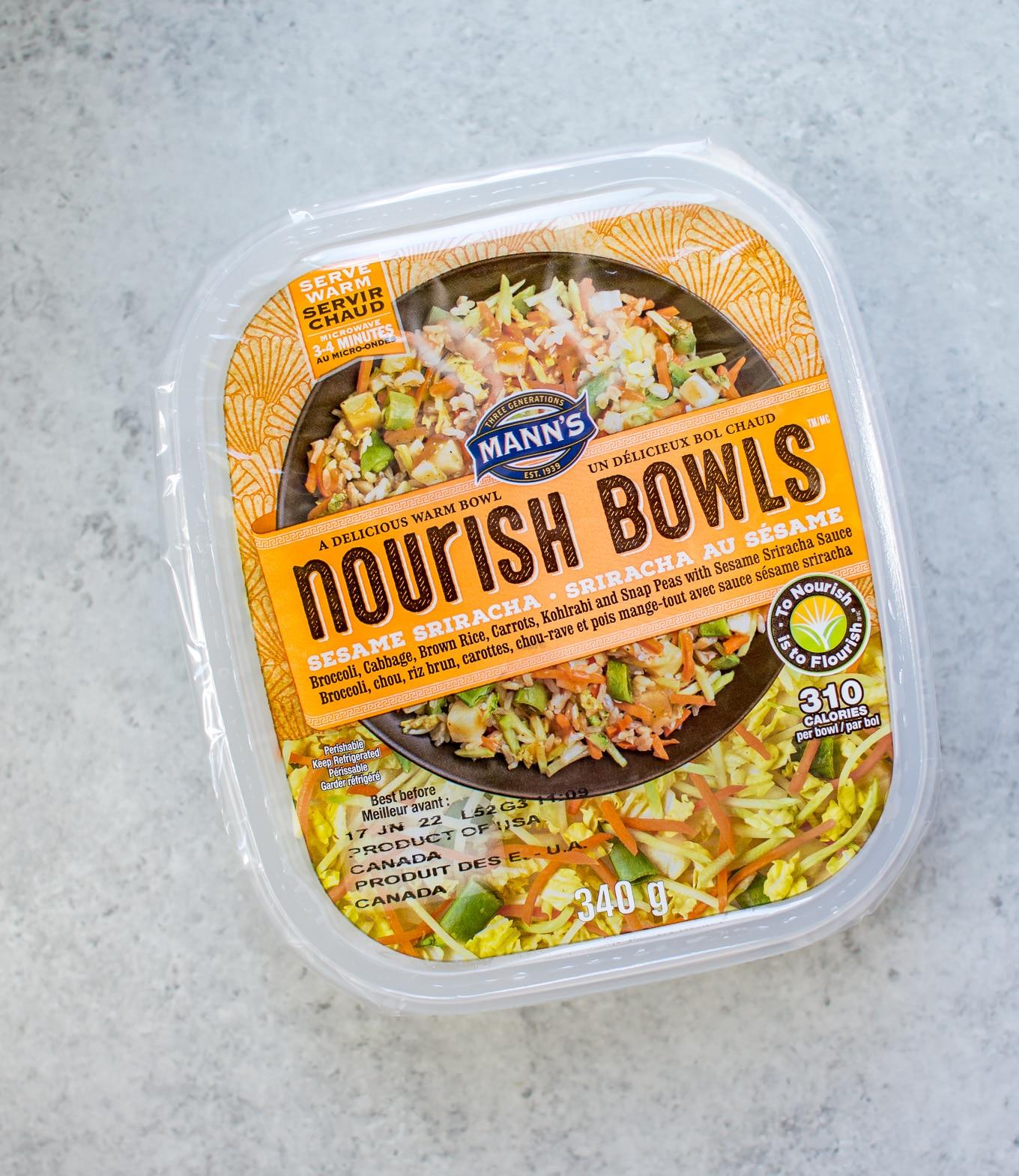 Sesame Sriracha Grilled Salmon Nourish Bowl • Salt & Lavender
