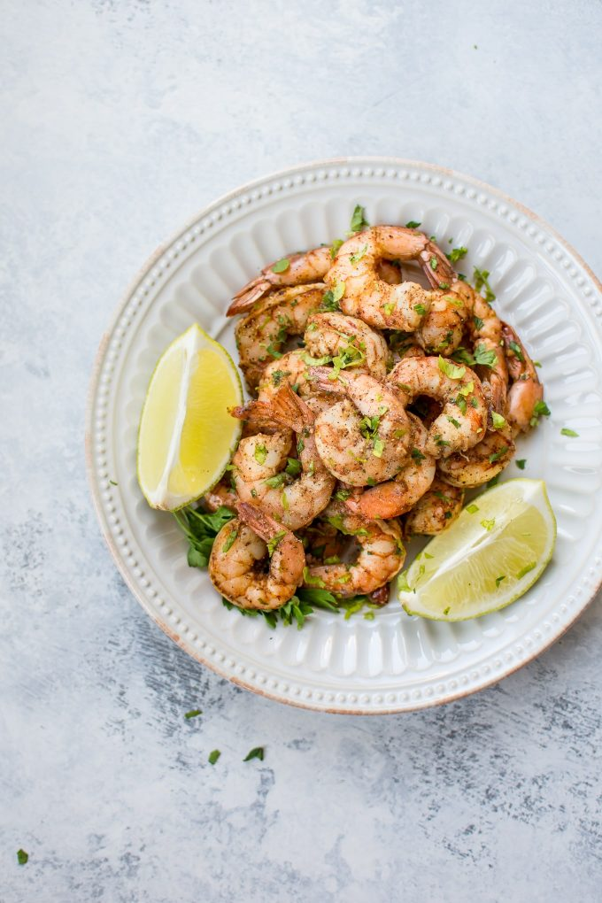 These baked chili lime shrimp are a fast and flavorful main course. Ready in just over 30 minutes, including prep and marinating time!