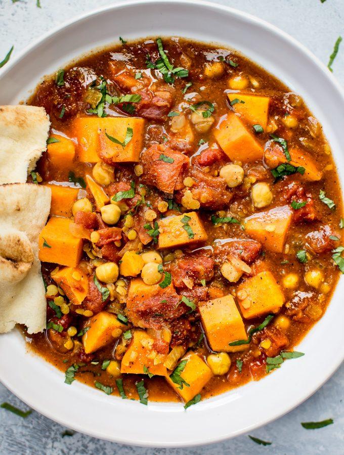 Crockpot Sweet Potato Curry