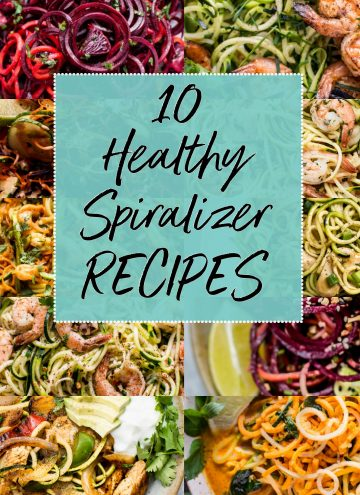 10 Healthy Spiralizer Recipes