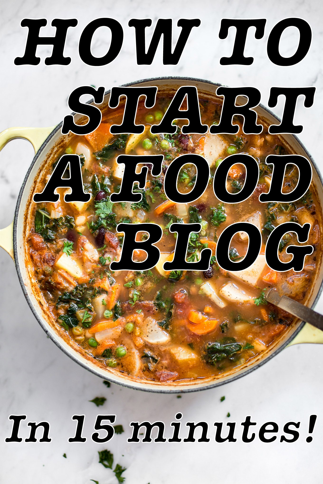 Are you ready to start a food blog? It's easier than you think. This quick guide will get you up and running in no time!