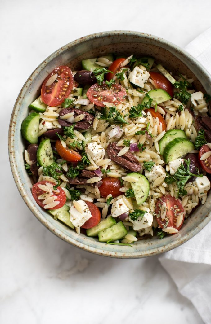how to cook orzo pasta salad