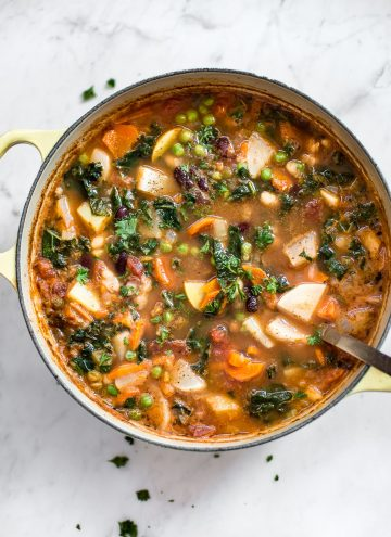 Easy Vegetable and Bean Soup