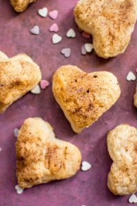 These puff pastry hearts are easy, fun, and the perfect heart-shaped treat for Valentine's Day!