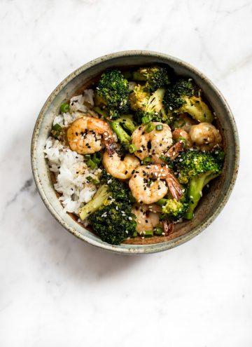 Easy Shrimp and Broccoli Bowls