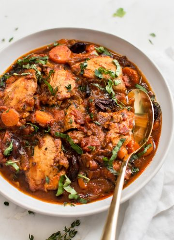 Easy Instant Pot Chicken Cacciatore