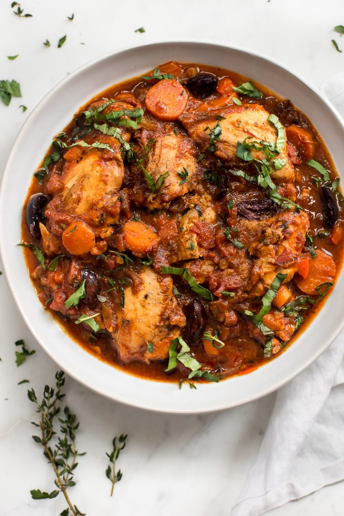 Easy instant pot chicken cacciatore salt lavender yes you can make authentic italian chicken cacciatore in the instant pot this electric forumfinder Images