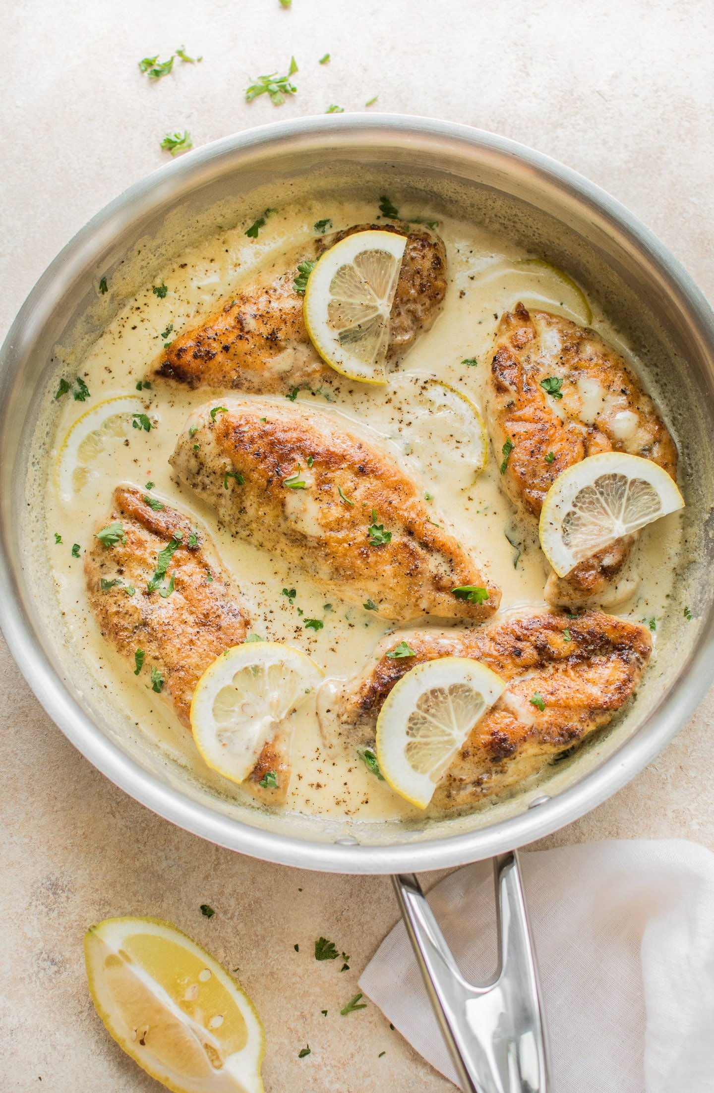 Easy Creamy Lemon Chicken Salt Amp Lavender