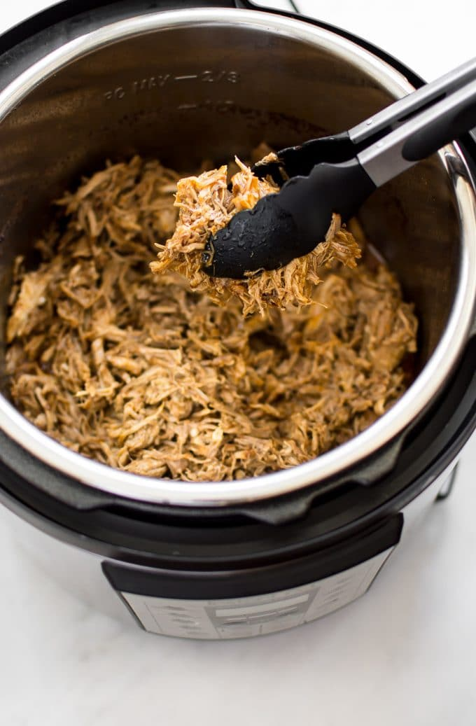 Image result for pork loin pressure cooker shredded