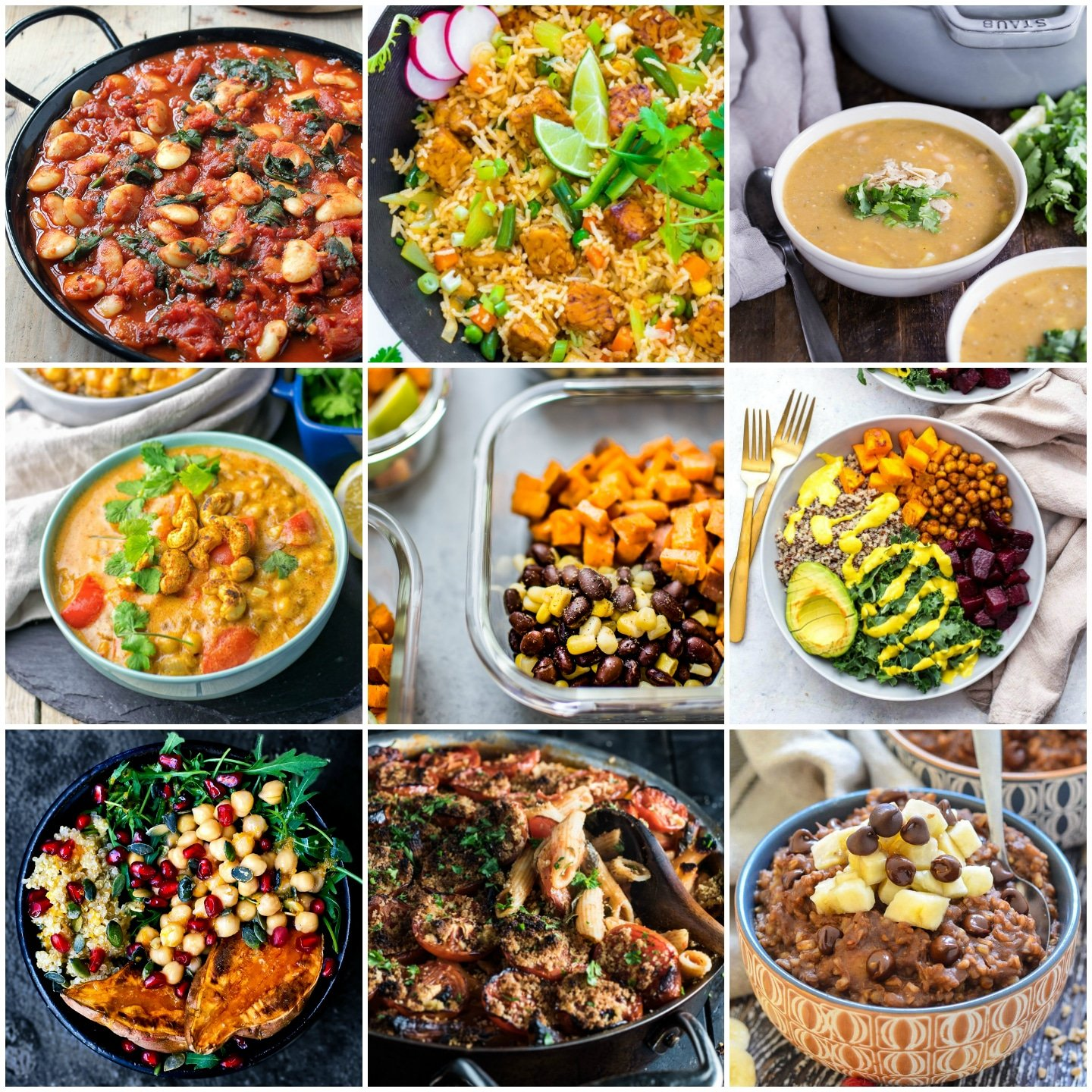 30 Delicious Vegan Meal Prep Recipes (Breakfast, Lunch
