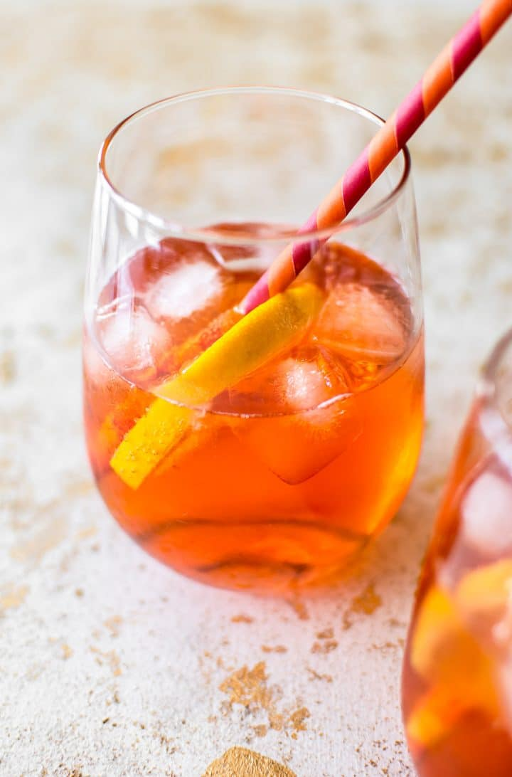 Cheers to the Aperol spritz - summer's favorite easy cocktail!