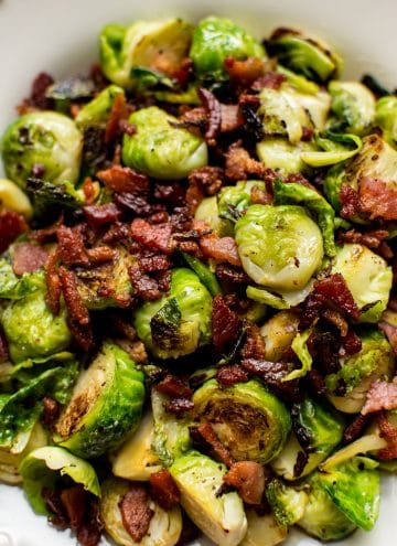 Easy Brussels Sprouts and Bacon Recipe