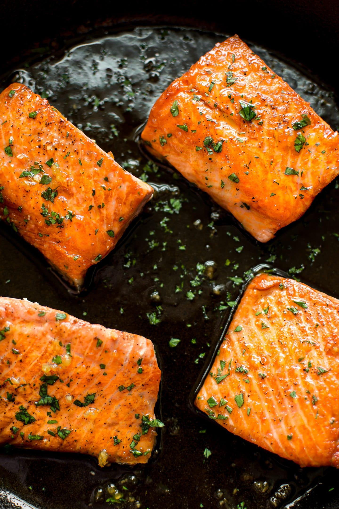 Honey Garlic Salmon Recipe Salt Lavender