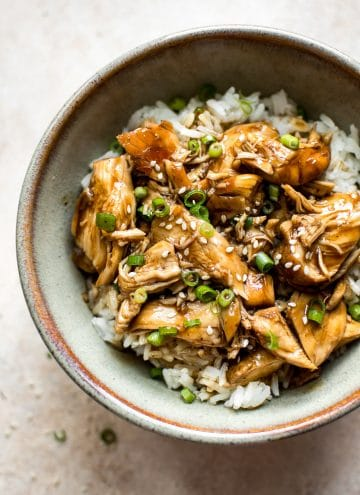 This easy Instant Pot teriyaki chicken recipe is quick, delicious, and has the best sweet sauce.