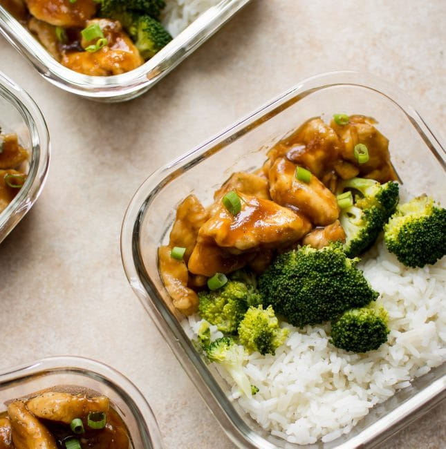 These easy teriyaki chicken meal prep bowls are a delicious healthy meal prep idea that you won't get bored of!