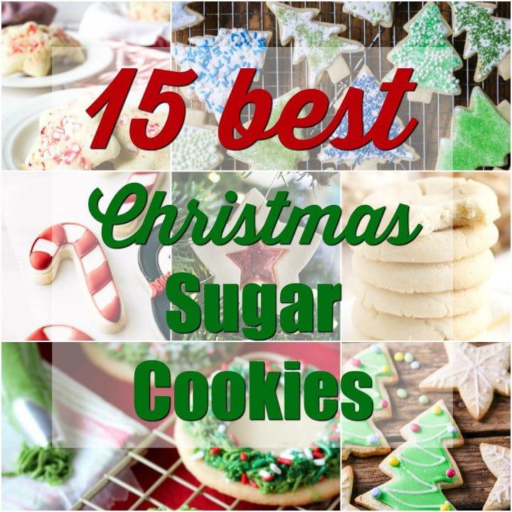 15 Best Christmas Sugar Cookies Salt Lavender
