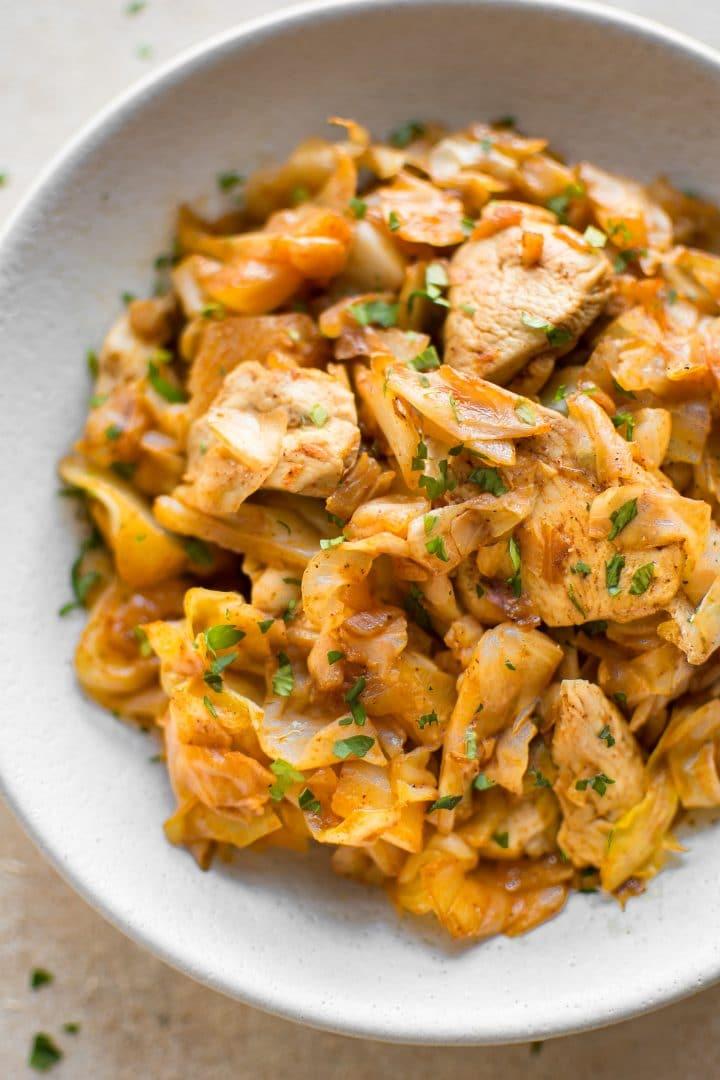 Easy Chicken and Cabbage Stir Fry \u2022 Salt \u0026 Lavender