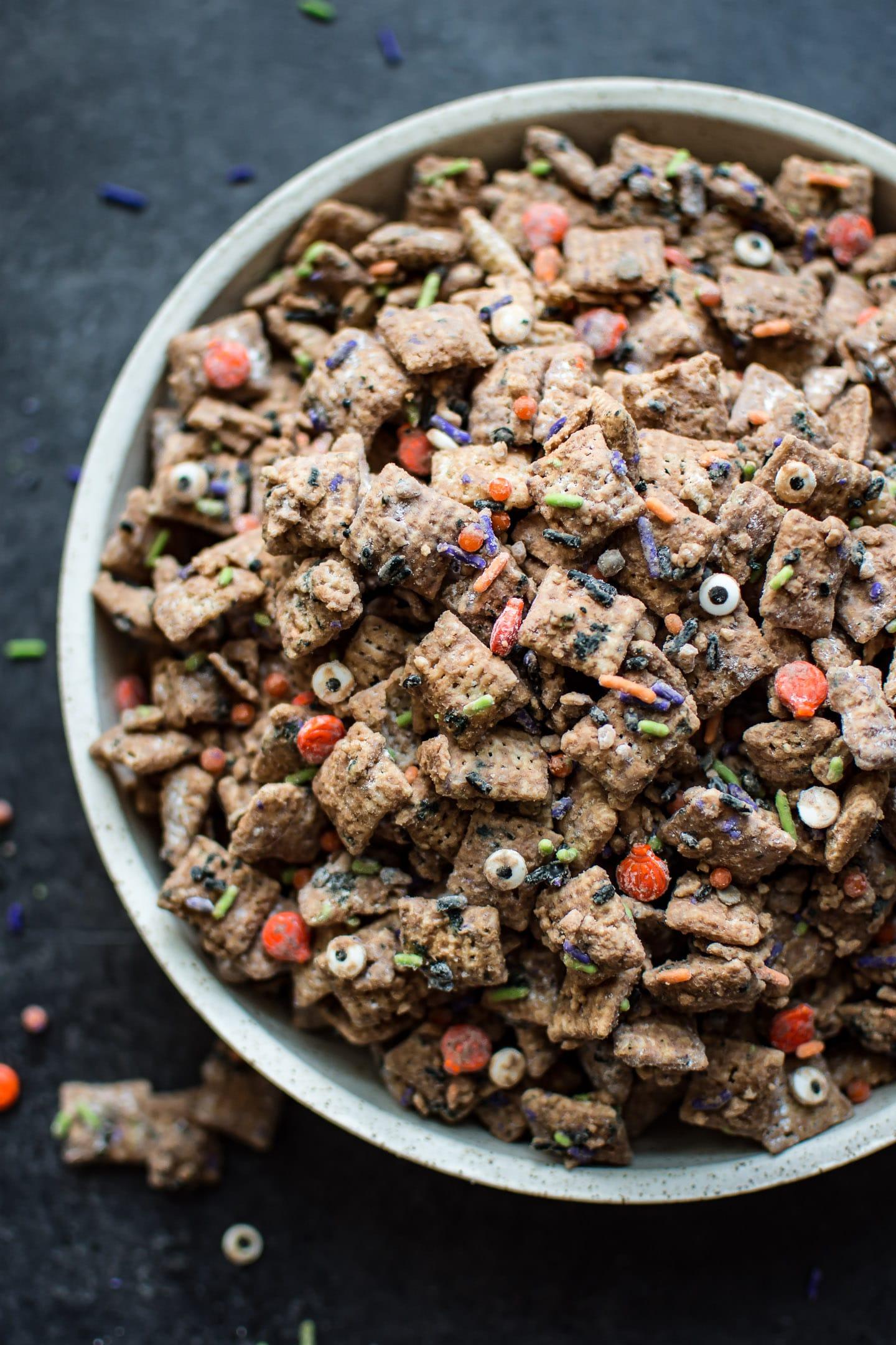 Halloween Puppy Chow Recipe Salt Lavender