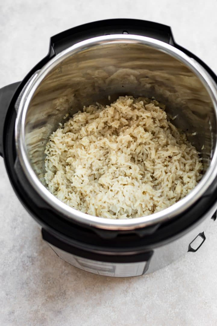 Making the best rice ever is easy in your Instant Pot. It's time to dust off your electric pressure cooker and make this awesome side dish!