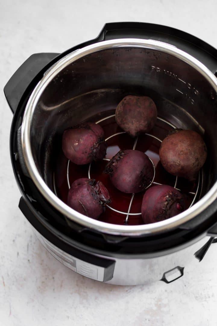 Instant Pot beets two ways - let me show you how to cook beets in the electric pressure cooker!