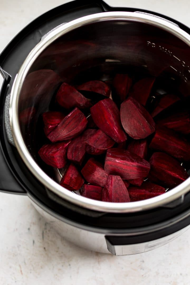 It's easy to make beets in the Instant Pot! They're nutritious, tasty, and make the perfect snack, side dish, or addition to salads.