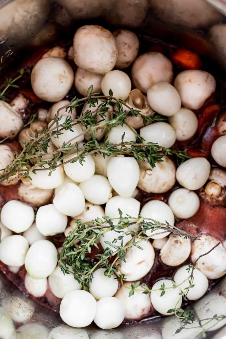 Instant Pot Coq Au Vin Salt Amp Lavender