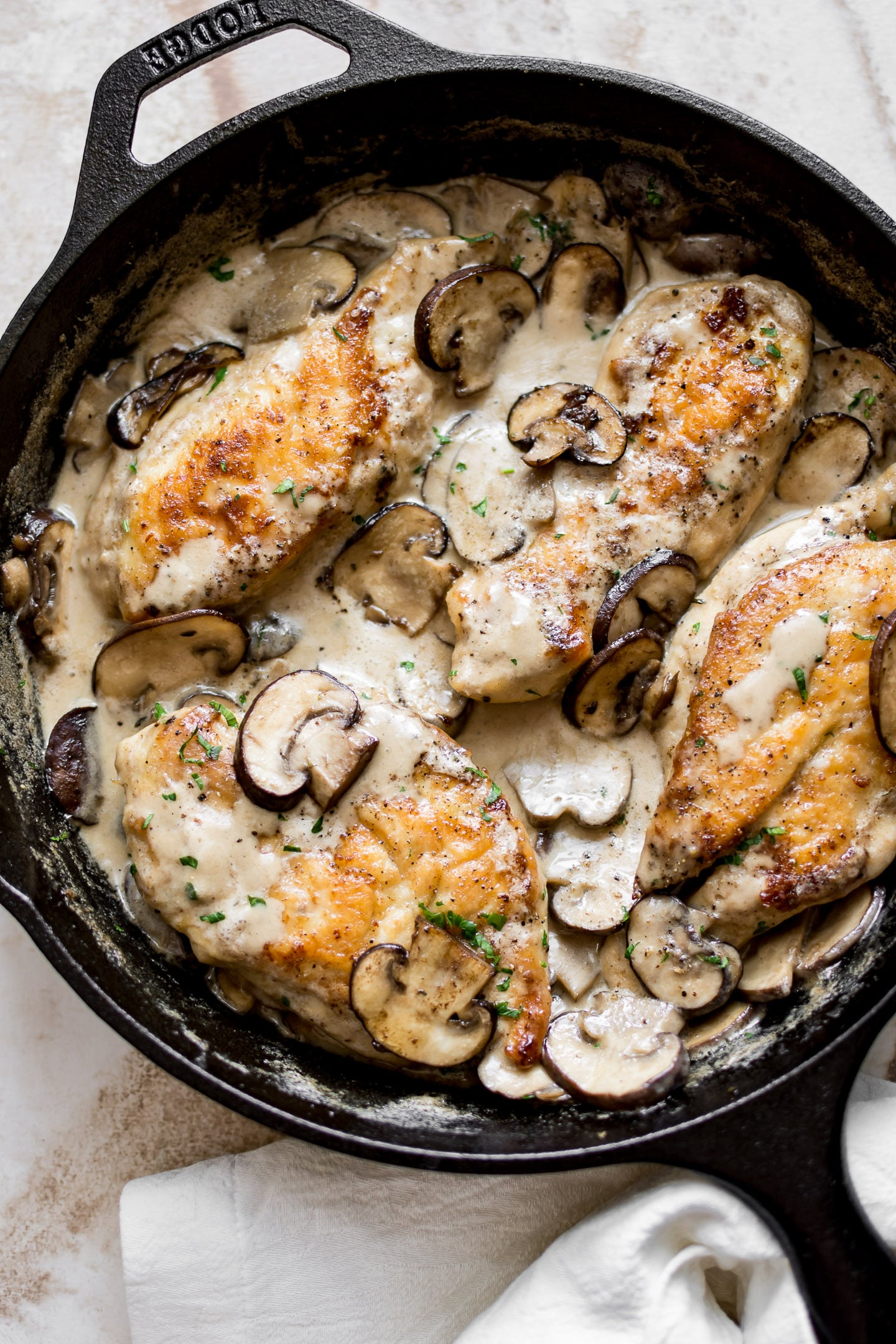 Creamy Mushroom Chicken Salt Lavender