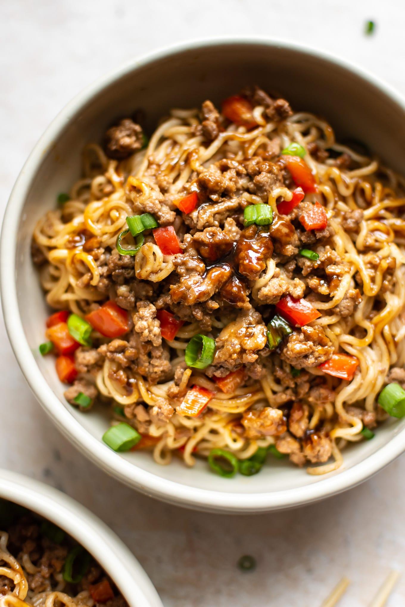 Beef Ramen Noodles Stir Fry Salt Lavender