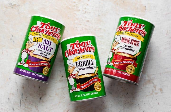 Tony Chachere's Creole seasonings