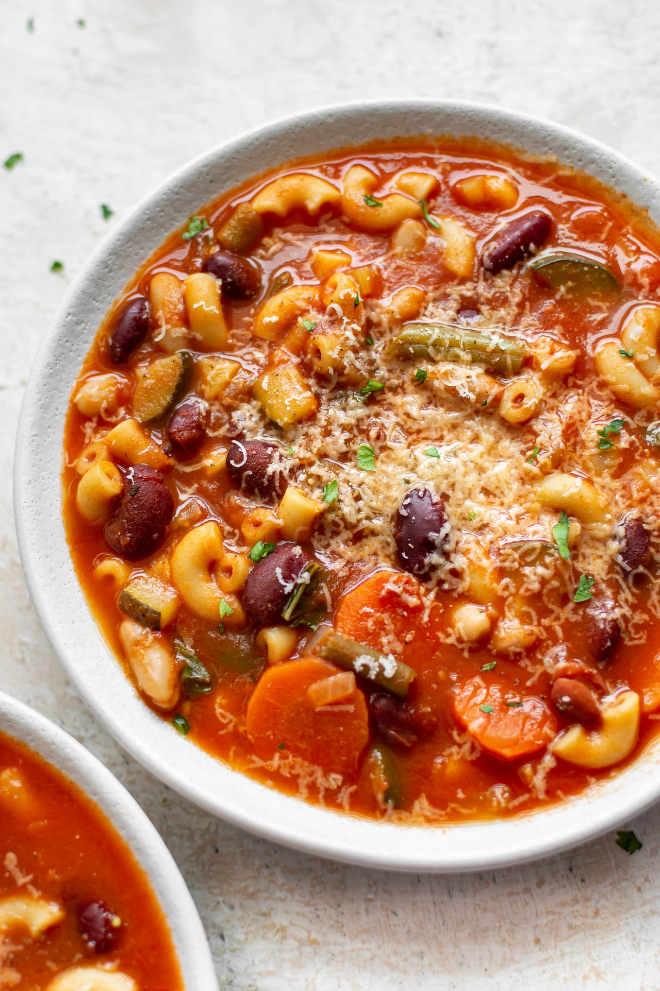 Easy Instant Pot Minestrone Soup Recipe Salt Lavender