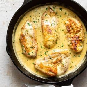 square thumbnail of honey garlic chicken